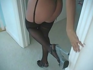 stockings,masturbation,solo,pov,nylon