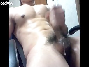 masturbation,big cock,solo,asian,jerk