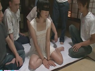 asian,woman,japanese,group,blowjob