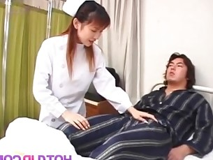 asian,woman,japanese,nurse,handjob