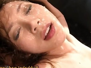 cumshot,interracial,blowjob,asian,gangbang